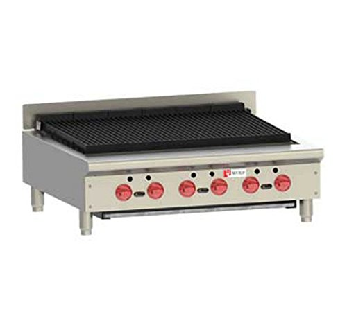 Wolf ACB36 Heavy Duty 36'' Gas Charbroiler by Wolf