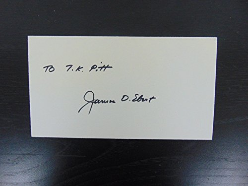 """""""Johns Hopkins Embryologist"""" Signed 4X6 Card Signature Auctions LOA from Unknown"""