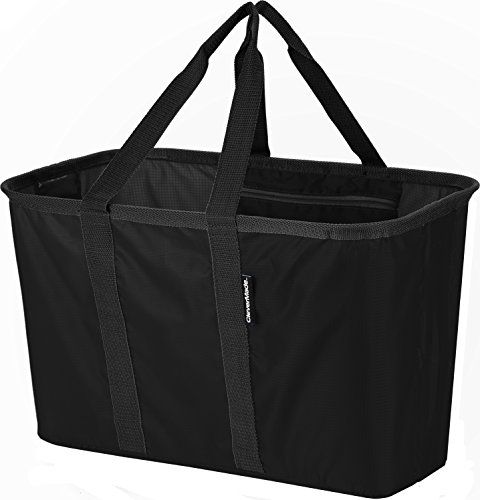 CleverMade SnapBasket Collapsible Shopping Tote