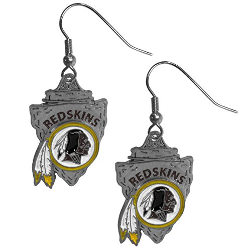 NFL Washington Redskins Cast Dangle Earrings ()