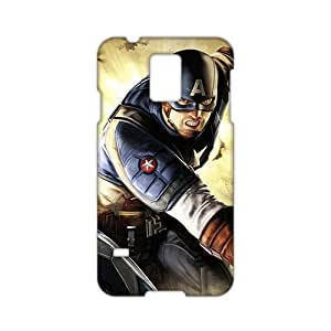 Freedom Captain America Super Soldier 3D Phone Case for Samsung Galaxy S5