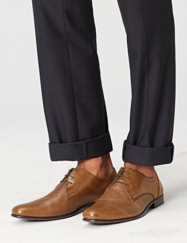 Marrón Find Textura Con Para Piel En Zapato Hombre De Cordones tan xzqOtwznrI