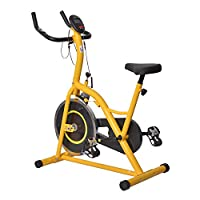 Homom Fitnessbike Hometrainer Indoorsportbicycle Exercise Bike Fitness LED...