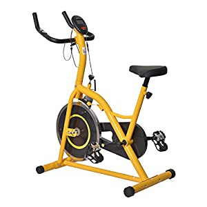 Homom Fitnessbike Hometrainer Indoorsportbicycle Exercise Bike Fitness LED...