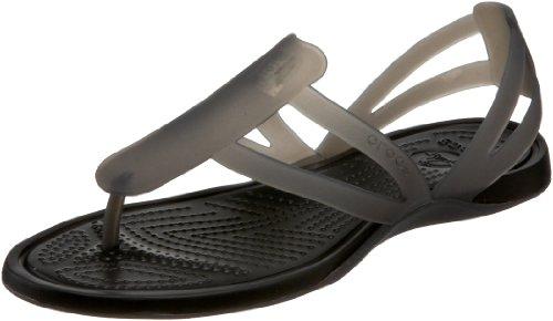 crocs Adrina Stpy 11206-43P-409 - Sandalias fashion para mujer Negro