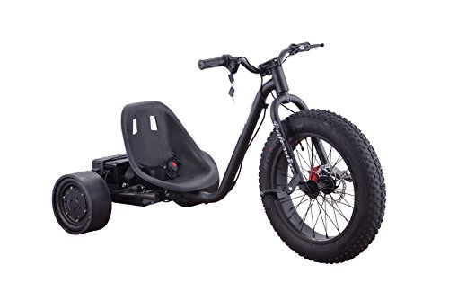 Rc Gp Wheels (Go-Bowen 900W 36V Electric Drift Trike - Speeds Up to 15 MPH - Great for Outdoor Fun (Black))
