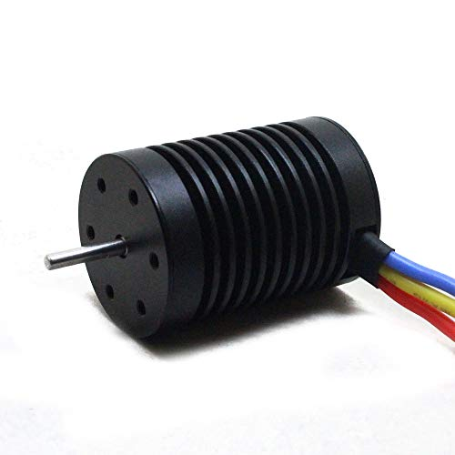 Hot  Fit 1/10 RC Car CNC Machined 4-Pole 12-Slot Hi-Torque Motor Design 10T KV3930 4 Poles Brushless Motor + Waterproof 60A Car Brushless ESC by Hisoul (Image #7)