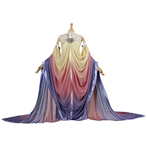 Queen Padme Amidala Naberrie Lake Dress Halloween Cosplay Costume for Women S ()