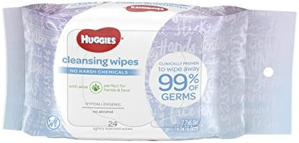 HUGGIES Cleansing Purse Scented Count