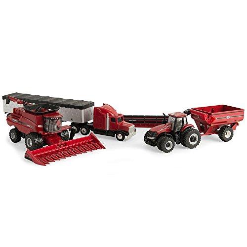 Case Ertl Truck (1/64th Case IH 4 Piece Harvesting Set)