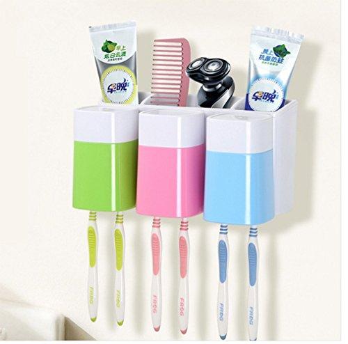 Eslite Toothbrush Mounted Bathroom Organizer product image