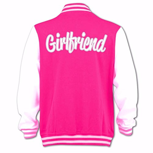 Blouson D'université Tidy Femme Jb Girlfriend Rose Bang Clothing 7xFqtt