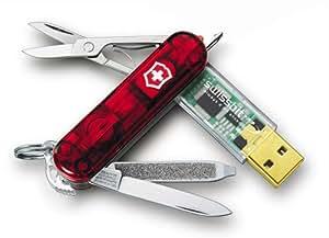 Victorinox SwissMemory 2 GB (Translucent Ruby)