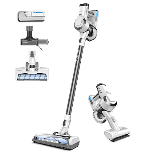 Tineco A10 Master Cordless Stick Vacuum Cleaner Lightweight 350W Digital Motor Up to 50 Minutes and 2 LED Powered Brushes, Handheld Vacuum, Deep Clean, Pet Owner (Metallic Grey) 2 Year Warranty