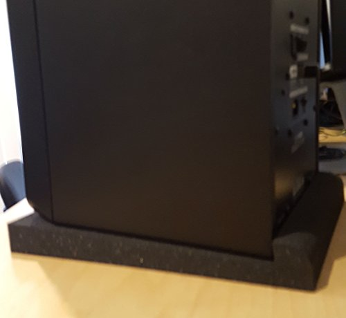 Studio Solutions High Density Studio Monitor Isolation Pads Pair For 8 Inch Monitors - Image 6