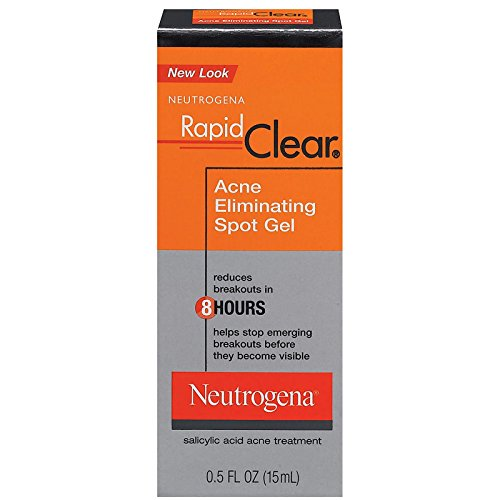 Neutrogena Spot Acne - Neutrogena Rapid Clear Acne Eliminating Spot Gel, 0.5 Ounce
