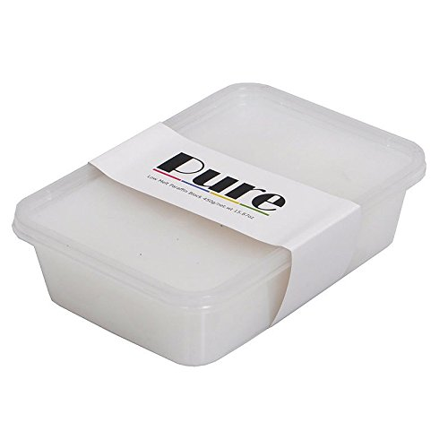 PURE Plain Fragrance Free Paraffin wax 450g