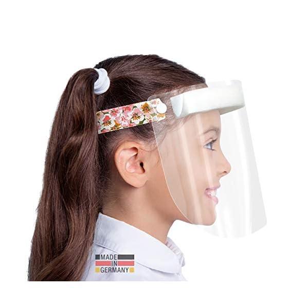 HARD-1x-Visier-Zertifizierter-Gesichtsschutz-Gesichtsschild-Anti-Beschlag-Gesichtsvisier-Face-Shield-Made-in-Germany-fr-Kinder-Blumen