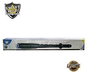Streetwise Security Products SWBAR9R Barbarian 9,000,000-Volt Stun Baton Flashlight
