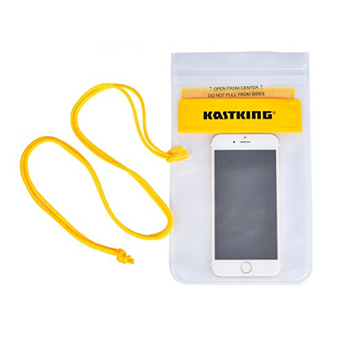 KastKing® Waterproof Cell Phone Case Dry Bag for iPhone 6s, Plus, Samsung Galaxy S7 Note, Nexus, LG G5,Up To 6.0
