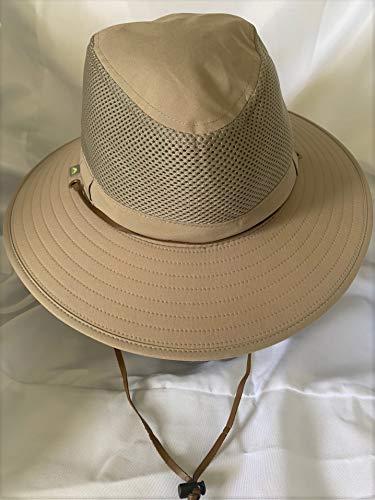 79d517dd Solar Escape Outback Mens UV Protection Hat- Khaki One Size