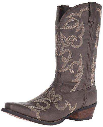 Durango Mens Ddb0081 Western Boot In Pelle Marrone