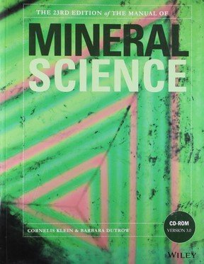 The Manual of Mineral Science