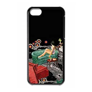 iPhone 5c Cell Phone Case Black Northern Lights BNY_6932755
