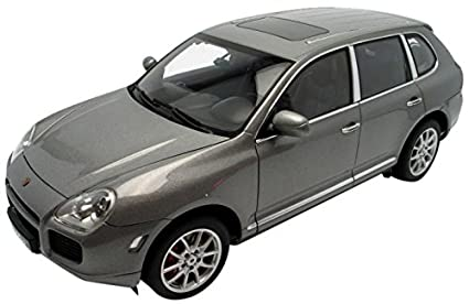 Porsche Cayenne Turbo Grey Diecast Car 1/18 Autoart