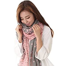 Scarf - SODIAL(R) New Fashion Lady Women's Long Candy colors Scarf Wraps Shawl Stole Soft Scarves Gray
