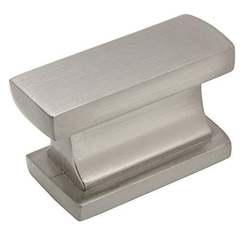 (Cosmas 701SN Satin Nickel Contemporary Cabinet Hardware Knob - 1-7/16