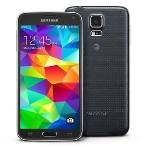 Samsung Korea Galaxy S5 G900F 4G LTE 16GB Factory Unlocked GSM Quad-Core Android Smartphone - Retail Packaging - Black, International...
