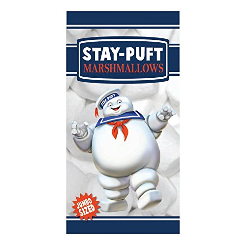 Factory Entertainment Ghostbusters Stay Puft Marshmallow Man Beach Towel Novelty ()