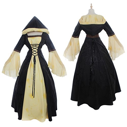 CosplayDiy Women's Medieval Victorian Ball Gowns Fancy Dress Costume CM (Colonial Gown Costume)