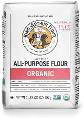 Flours & Meals: King Arthur Organic All-Purpose Flour