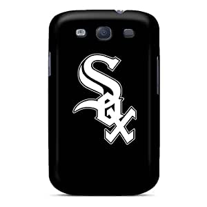 Scratch Protection Hard Phone Case For Samsung Galaxy S3 (nZz11073ranv) Allow Personal Design Attractive Baseball Chicago White Sox 2 Pictures