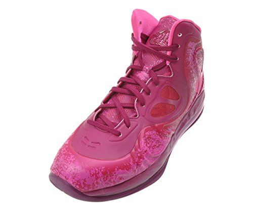 Nike Air Max Hyperposite Männer Basketballschuhe Sneakers Torquoise / Gelb 524862-303 Raspberry Red / Pink Folie-Rave Pink