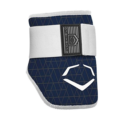 Elbow Guard Hitters - EvoShield EvoCharge Batter's Elbow Guard - Adult (Navy)