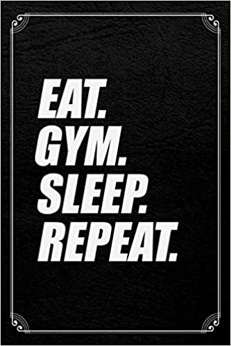 Eat Sleep Gym Repeat Unisexe Tablier-exercice-Poids-Fitness Lifting
