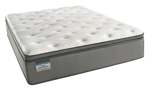 Simmons BeautySleep Plush Pillow Top 450, Queen Innerspring Mattress