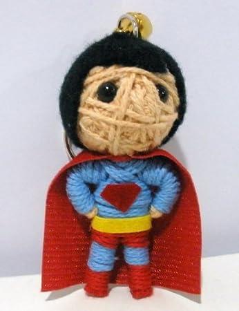 Amazon.com: Superman Voodoo Cadena Llavero con muñeca ...