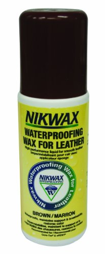 Nikwax Waterproofing Wax for Leather Liquid (brown) 125ml (Nikwax Waterproofing Wax)