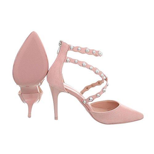 Ital Chaussures Compensées B Pink Femme 50 design rCq5vUr