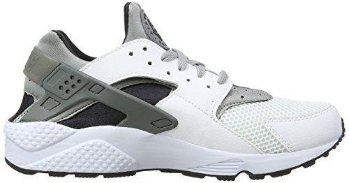Nike Air Huarache, Scarpe da Ginnastica Uomo Multicolore (White/Wolf Grey/Black/Cool Grey)