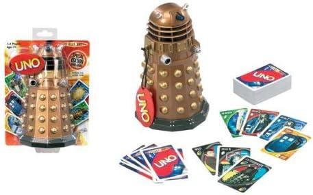 Doctor Who Uno - Juego de cartas, diseño de Doctor Who: Amazon.es: Juguetes y juegos