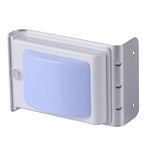 16 LED Lighting Solar Powered Motion Sensor Light Cool White Wireless Security Wall Mounted Waterproof Lamp for Garden Patio Home Decorative by Generic (Image #3)