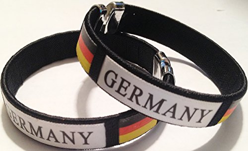 germany futbol football soccer badge logo wristband bracelet (World Soccer Bracelet)