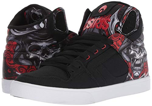 Top Hi De Clone Homme Chaussure Huit Skate Rouge Samurai Osiris xFREInqw5R
