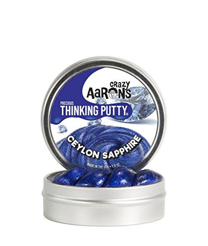 Crazy Aaron's Thinking Putty, 1.6 Ounce, Precious Gems Ceylo