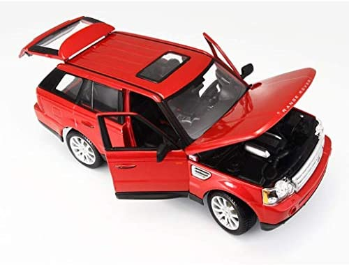 SUV Off-road Vehicle Model 01:18 Simulation Alloy Auto Model Toy Ornaments Collection Jewelry 25.7x12x9.5CM